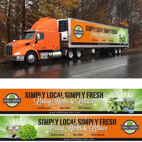 Truck Wrap for Edible Garden