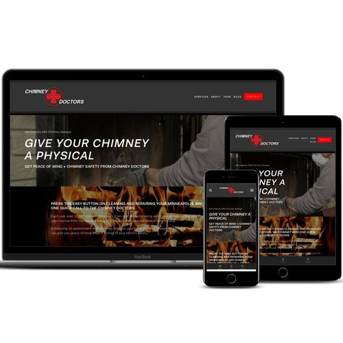 A New Website Sweeping the Chimney Competition