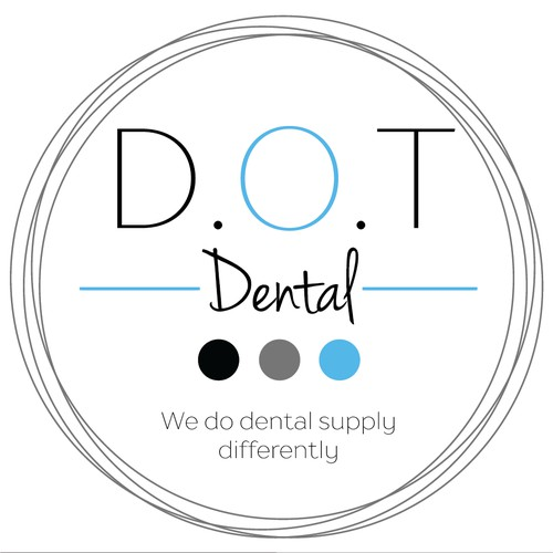 D.O.T Dental Logo Design