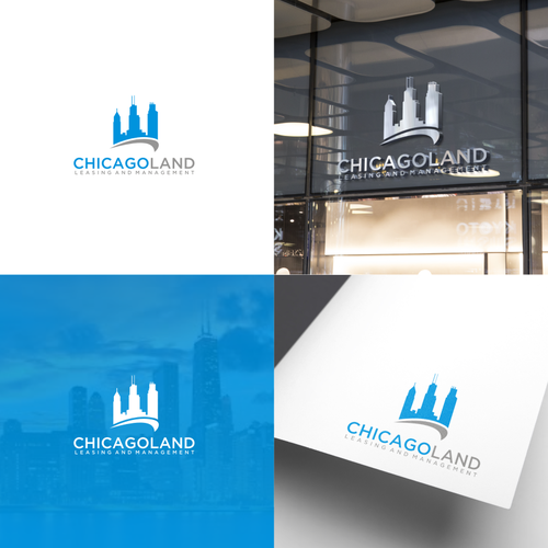 Design a cool fresh real estate logo for property management company