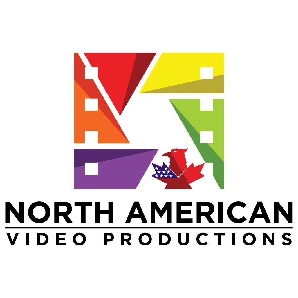 North American Video Logo (based on provided design)