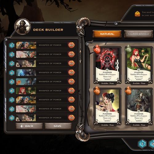 Game GUI Design