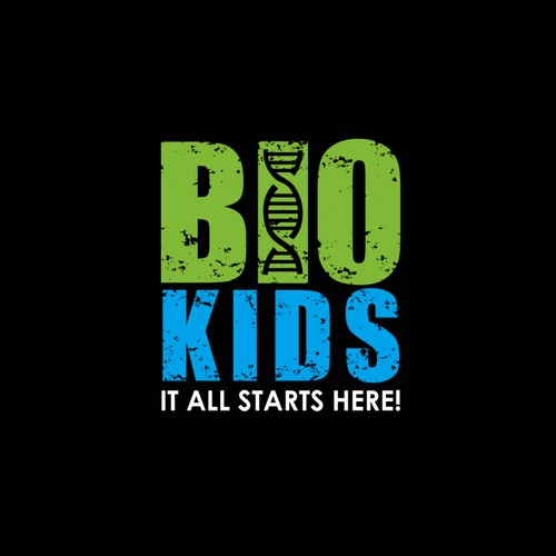Bio Kids Logo Design
