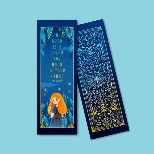 """Bookmark Illustration set ''dreamers"""""""