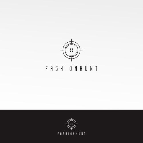 fashionhunt logo design