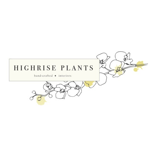 Indoor plant and decor logo