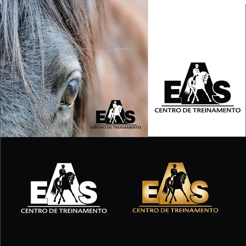 LOGO for equine training center