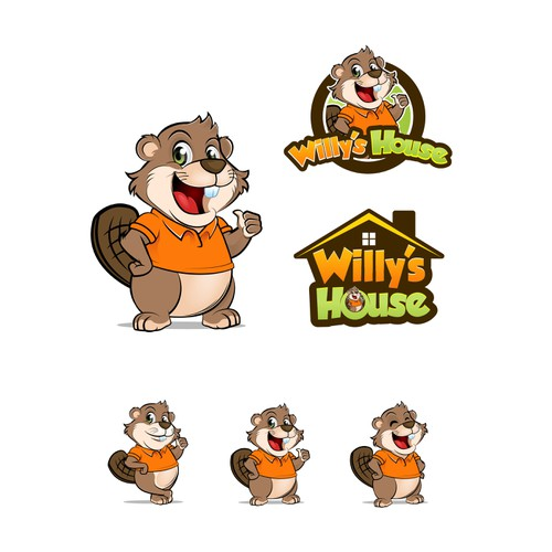 Mascot logo for Willy's house