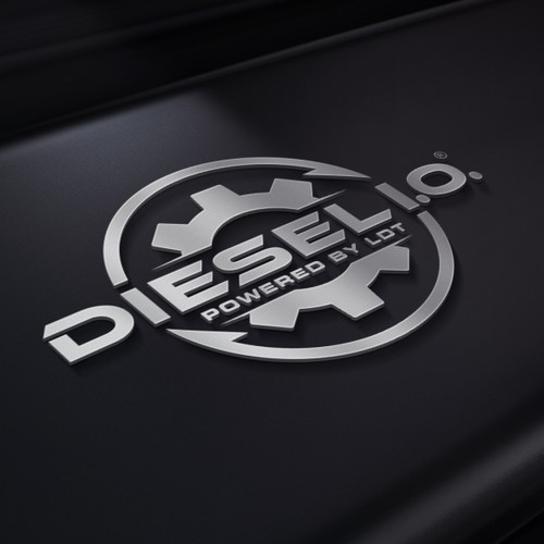 Unique powerful logo for express product trucking industry