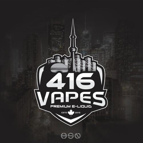 Logo for 416 Vapes