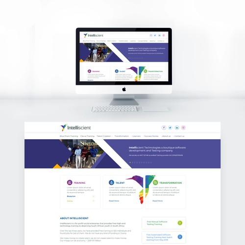 Intelliscient Technologies Website