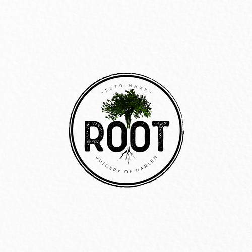 Logo for Root Juicery of Harlem
