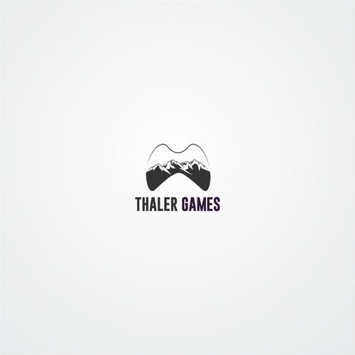 Erstelle ein Indie Game Studio Logo für Thaler Games