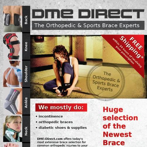 Help DME Direct with a new postcard, flyer or print