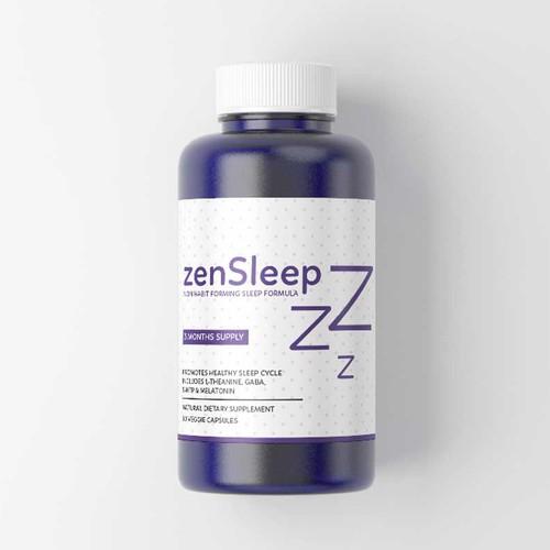 Label Design for Brain Supplement Company