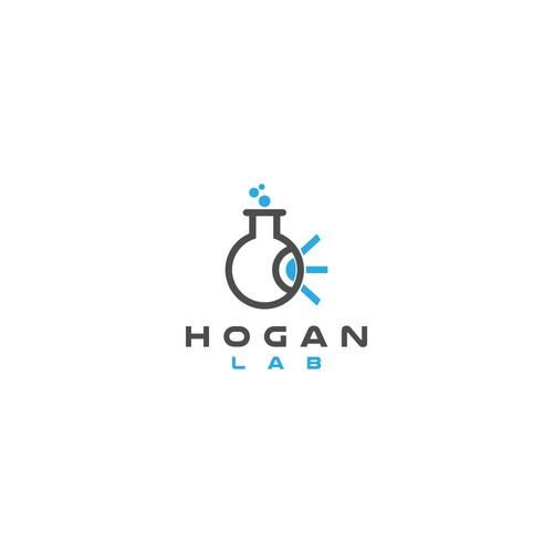 Logo for hogan lab.