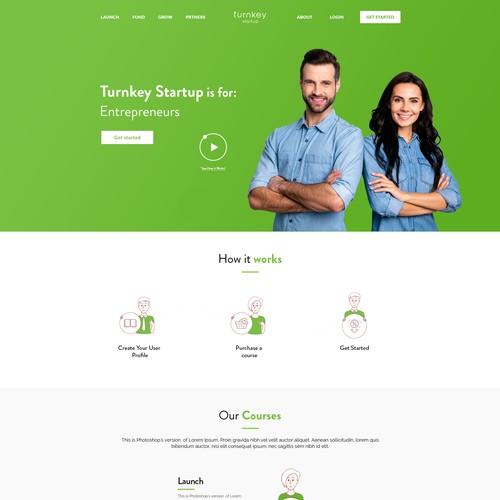 Turnkey Startup | A step by step course built by 10+ of the Top Business Execs