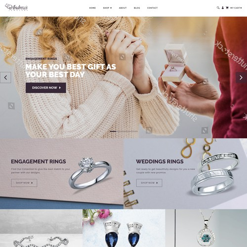 E-Commerce Jewelry Website