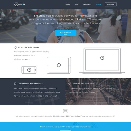 Web Design - Tlnt.in Recruiting Software