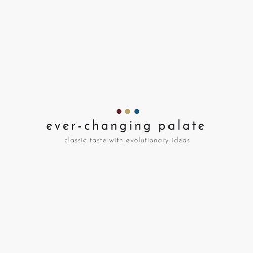 Logo for PR Firm Focused in Luxury Food, Wine, Lifestyle