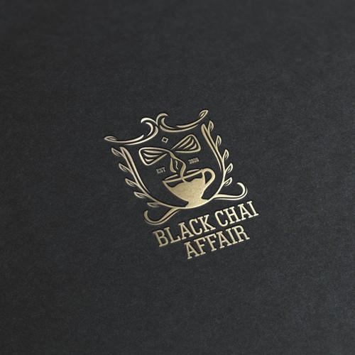 Logo concept for Black Chai Affair