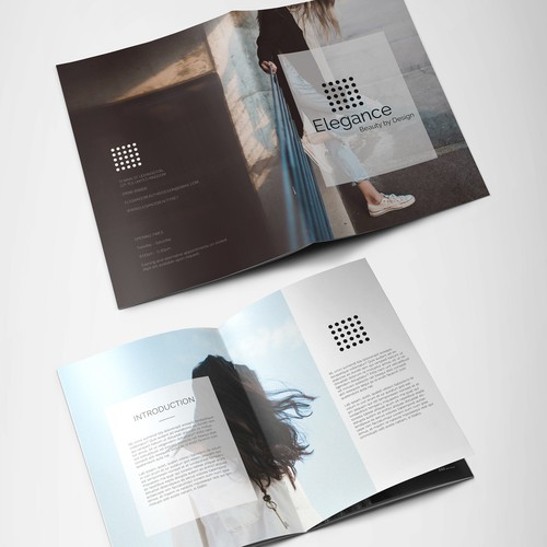 Brochure for Elegance Beauty By Design