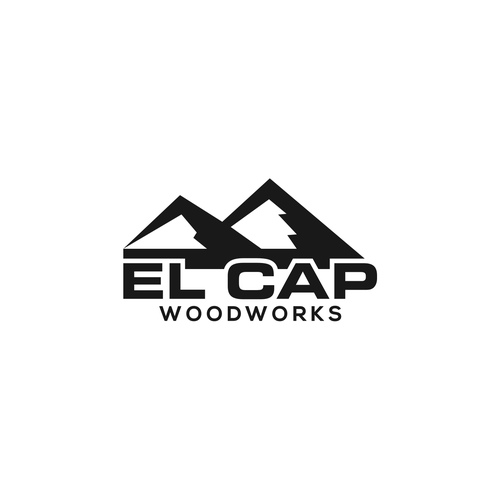 Logo Concept For Mountain Woodworking