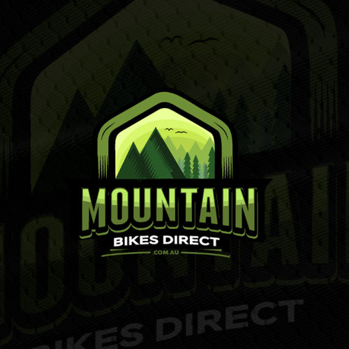 "Logo for ""Mountain Bikes Direct"""