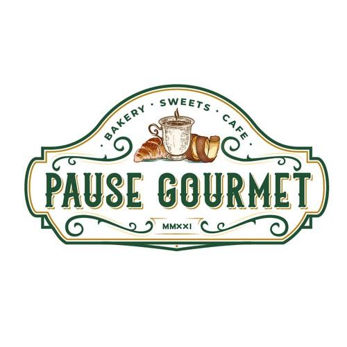 Luxurious logo design for the restaurant