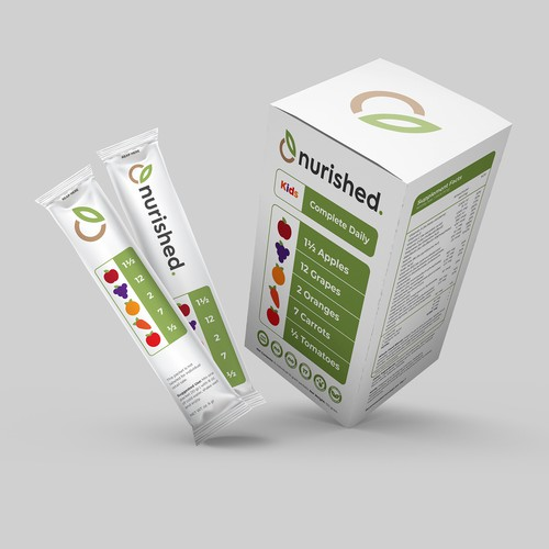 Packaging Concept for Nurished