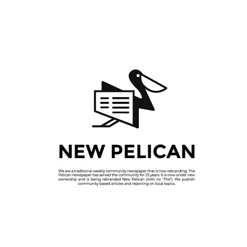 Logo concept for New Pelican