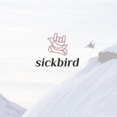Sickbird surfing