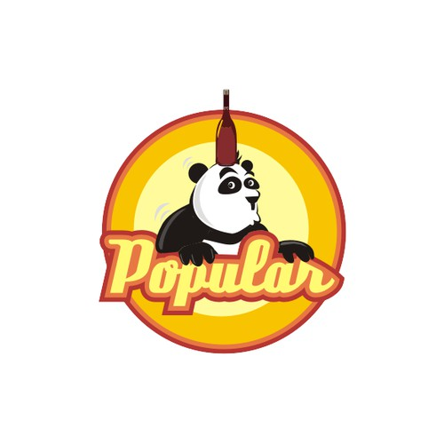 Put U hands on a new LOGO of POPULAR Food and Beverage Company