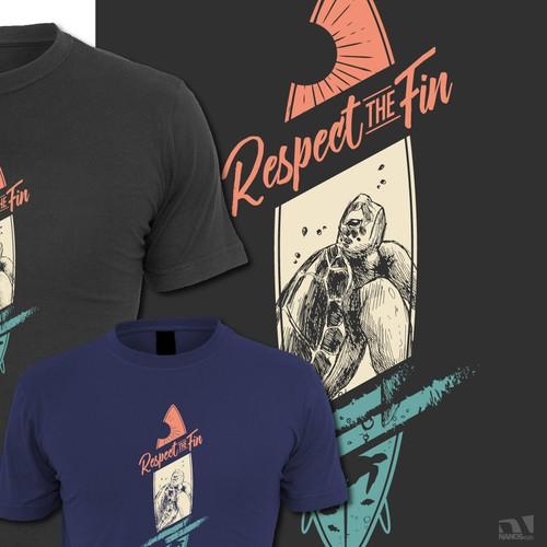 Ocean Themed T-shirt Design