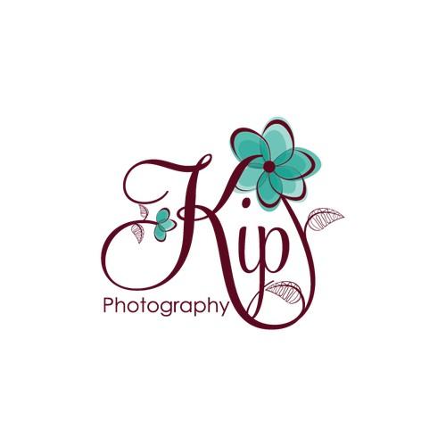 floral swirly logo