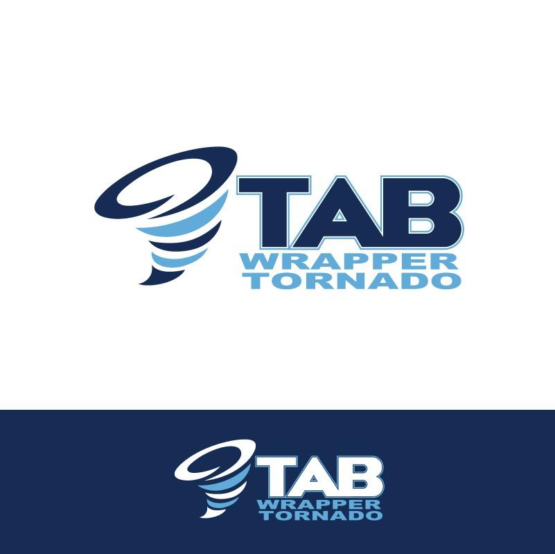 TAB Industries, LLC. wants a logo for the TAB Wrapper Tornado