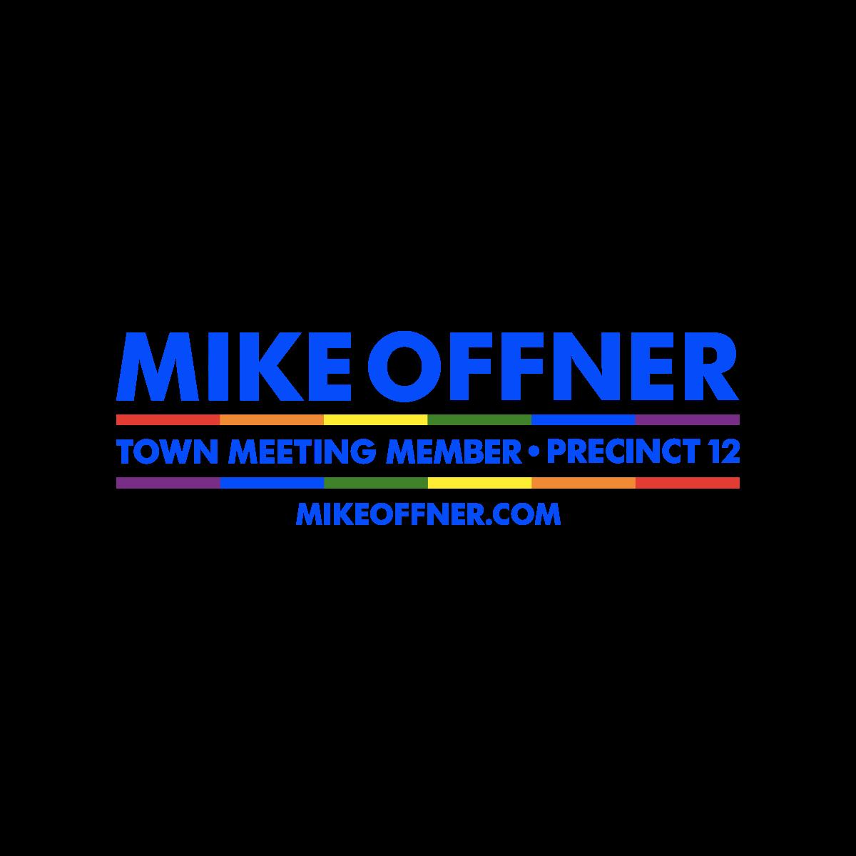 Mike Offner Town Meeting Member • Precinct 12
