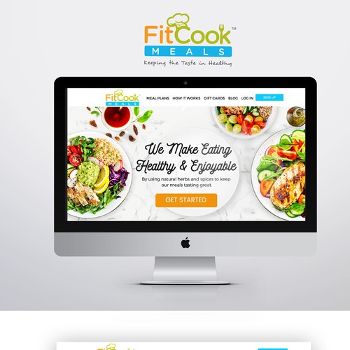 Website Design for a healthy meal delivery company