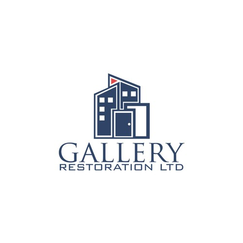 Create a new logo for Gallery Restoration Ltd! a general contacting company in NYC!!!