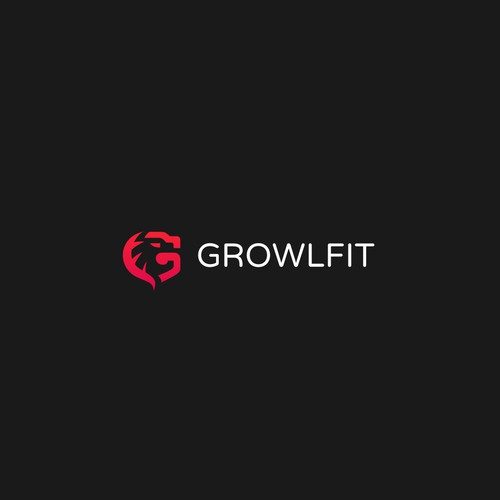 GrowlFit - Logo for innovative tech startup.