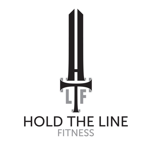 Design a strong brand logo for Hold The Line Fitness