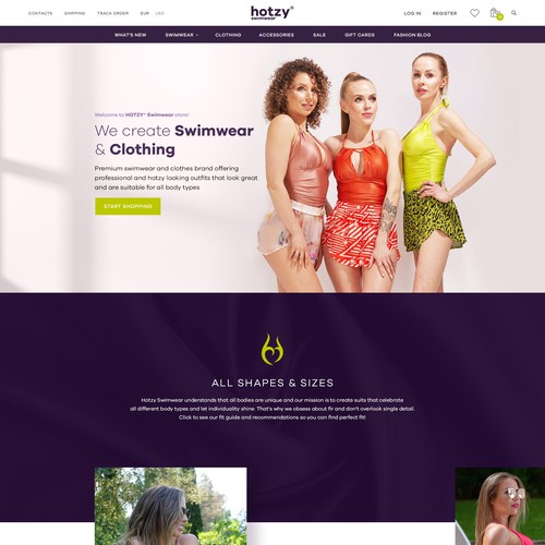 Fashion Manufacturer website