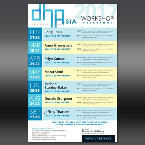 DHAsia Poster
