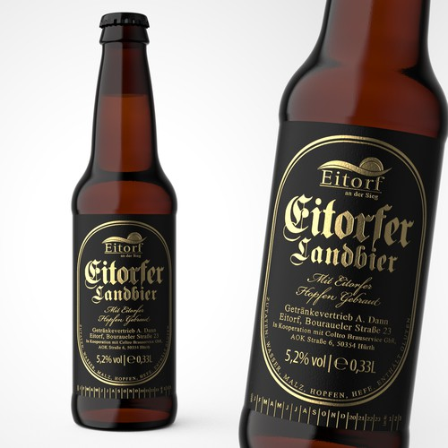Balanced & Heritage Beer Bottle Design