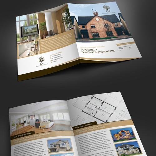 Bi fold brochure design.