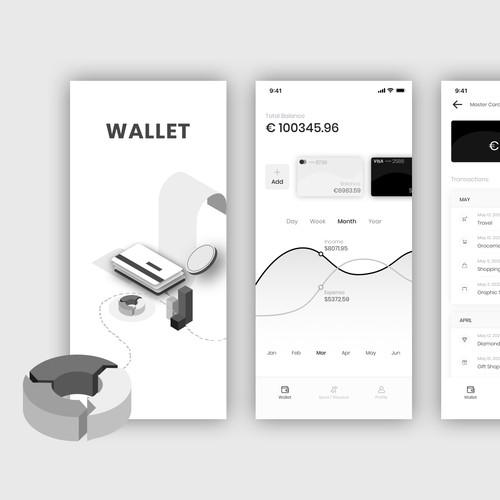 Wallet - Finance Management Mobile App