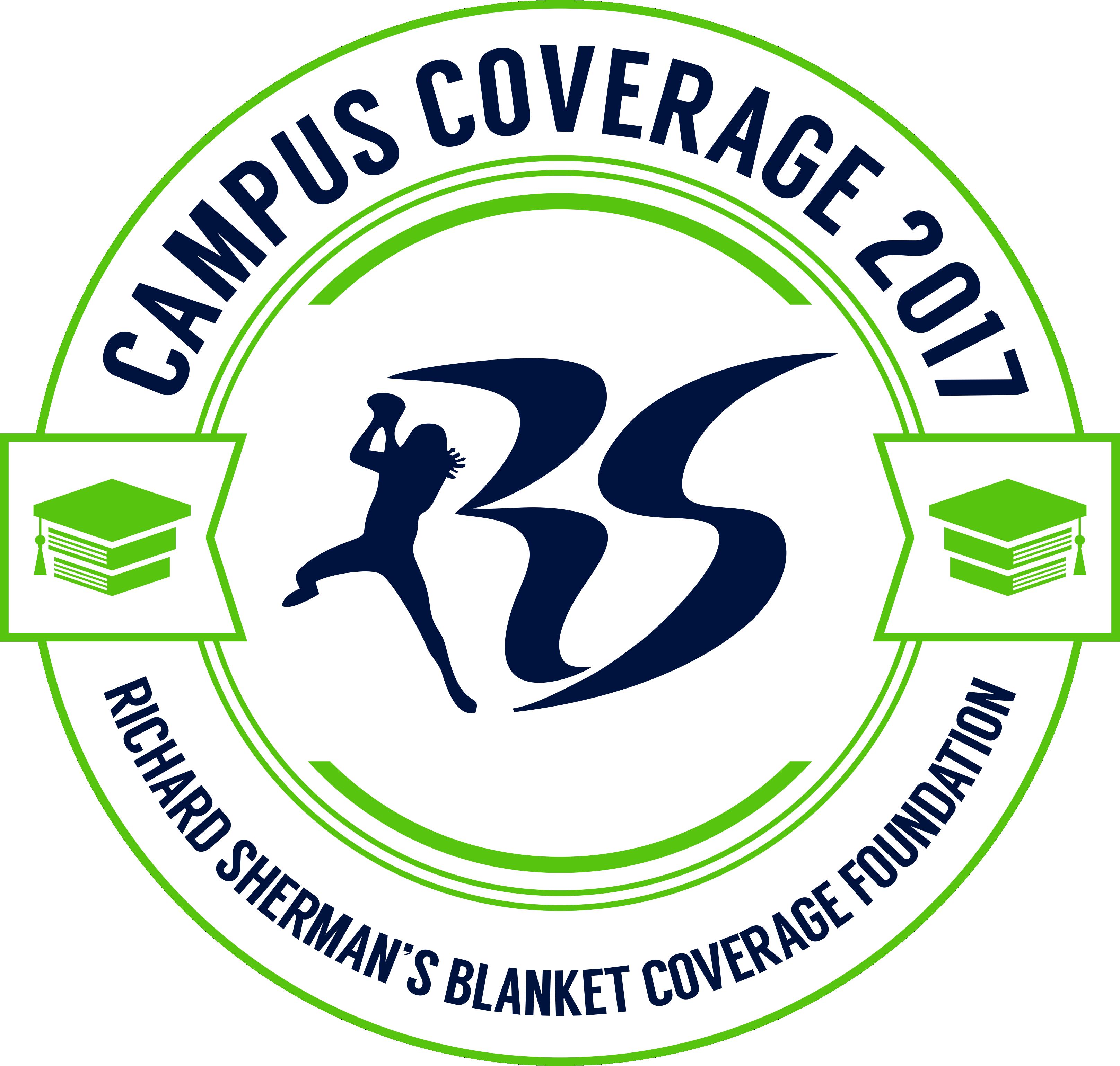 Richard Sherman (of the Seattle Seahawks!) Blanket Coverage Foundation Logo