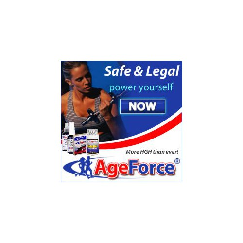 Age Force banner design