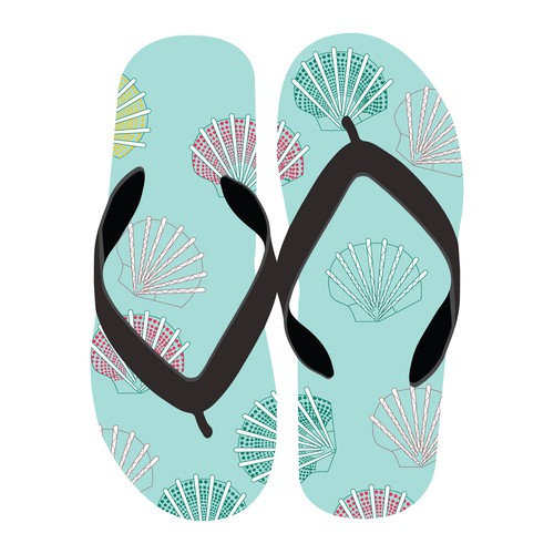 Flip flop pattern design