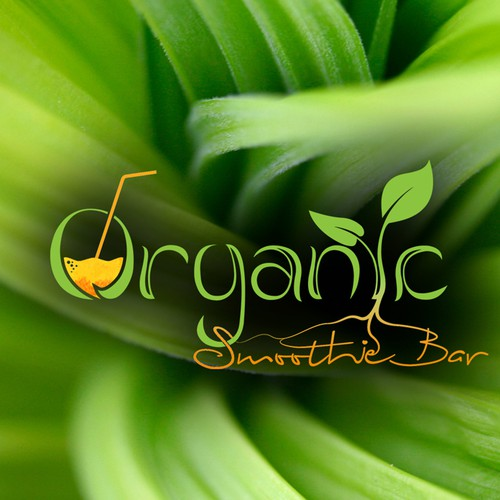Organic Smootie Bar (logo and website)